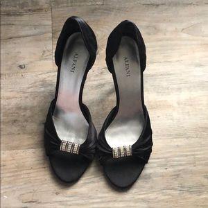 Black Alfani heels